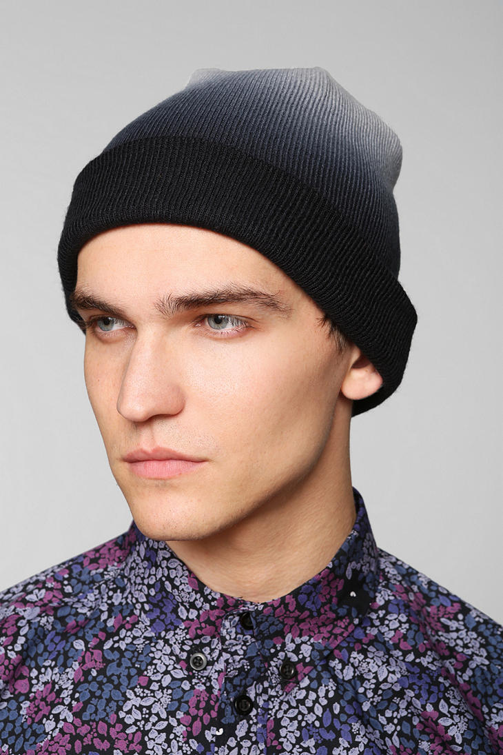 Lyst - Urban Outfitters Ombre Slouch Beanie in Blue for Men 70e23fa52b1
