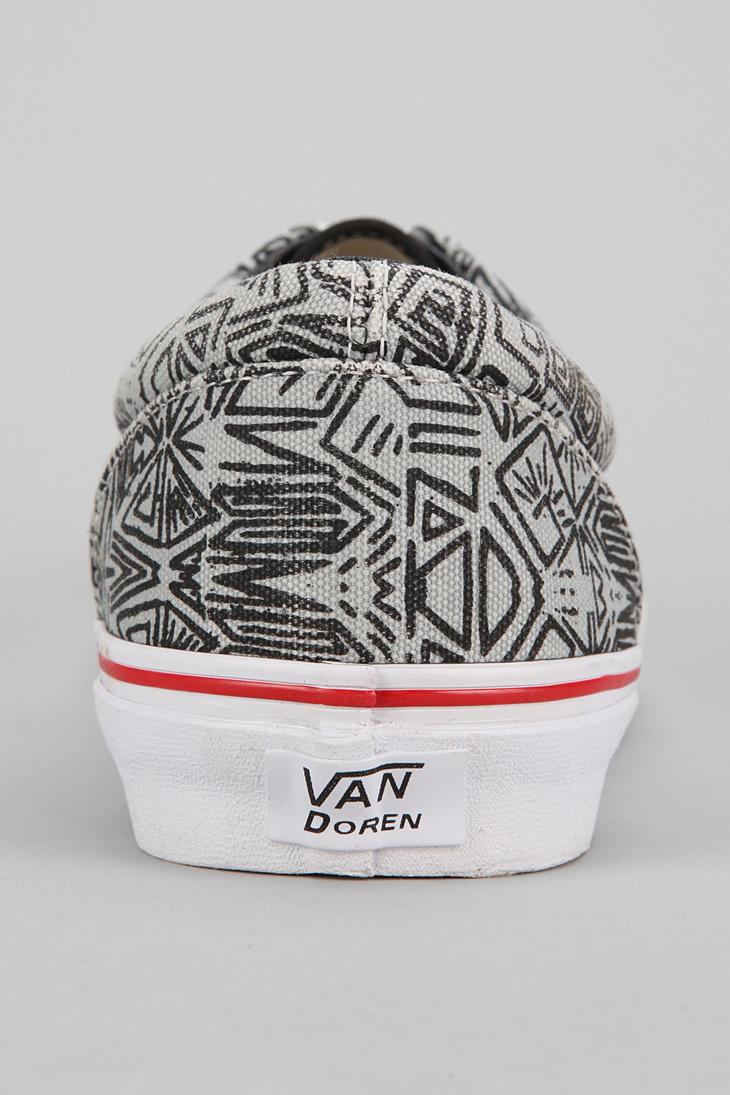 f3e43f61e08e02 ... Lyst - Urban Outfitters Era Van Doren Grey Maze in Gray for  Vans ...