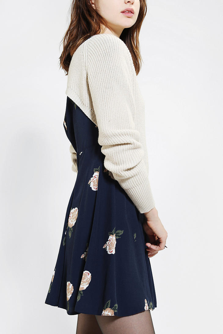 Urban outfitters Kimchi Blue Ballet Super Cropped Sweater in ...