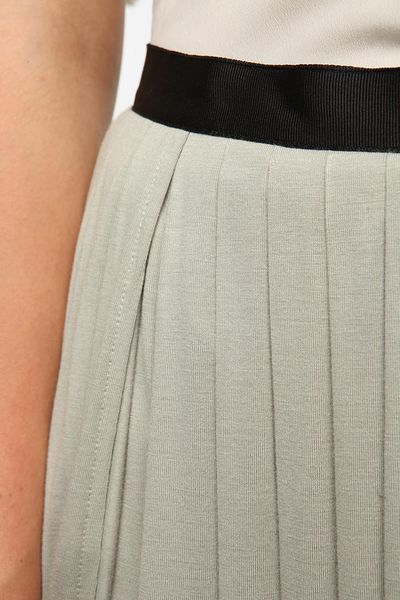 Urban Outfitters Ecote Double Slit Maxi Skirt In Gray