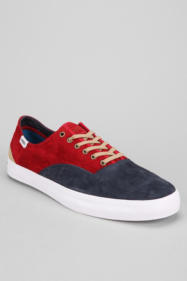 Urban Outfitters Otw By Vans Prescott Sneaker in Red for Men | Lyst