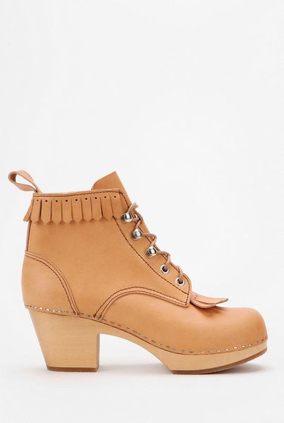 Urban Outfitters Swedish Hasbeens For Uo Jungle Fringe