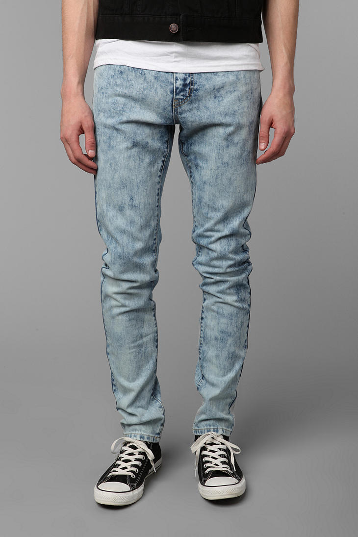 Urban outfitters Standard Cloth Super Skinny Jean in Blue for Men ...