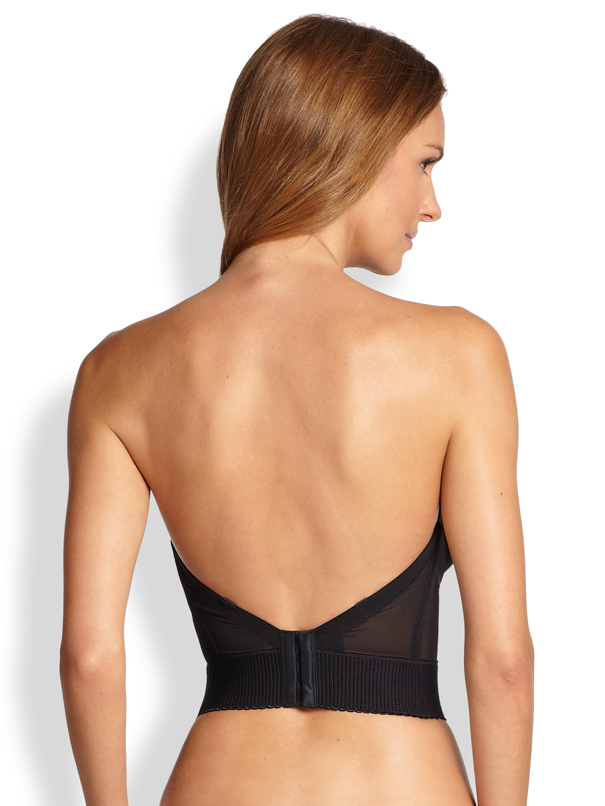 Wacoal Red Carpet Lowback Strapless Bra in Black | Lyst