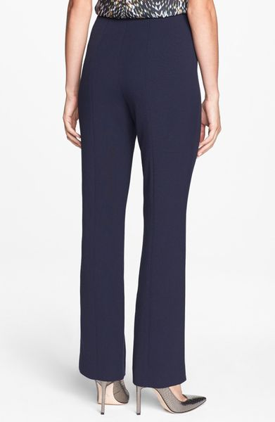 Adrianna Papell Hollywood Waist Pants in Blue (Blue Moon ...