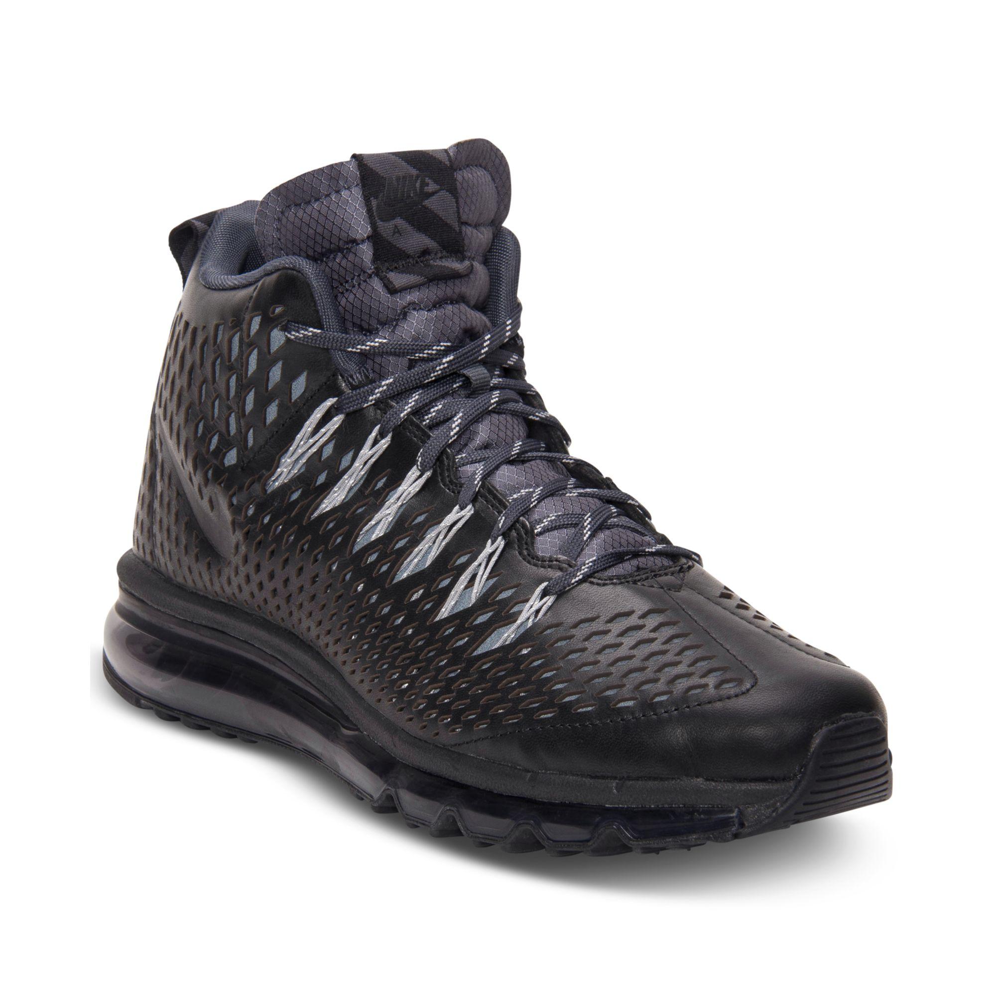 online retailer 22ba2 06dd4 Nike Air Max Graviton Casual Sneakers in Black for Men - Lyst