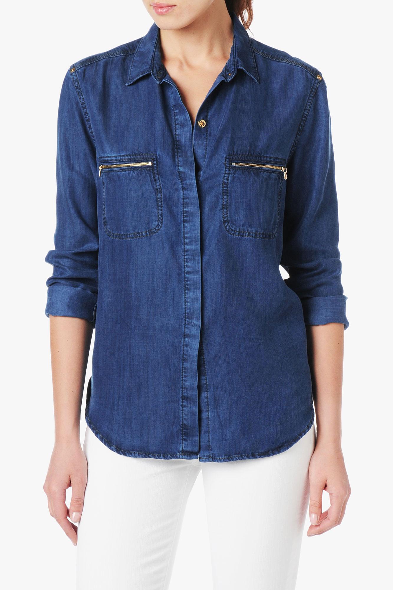 denim shirt pockets - photo #5