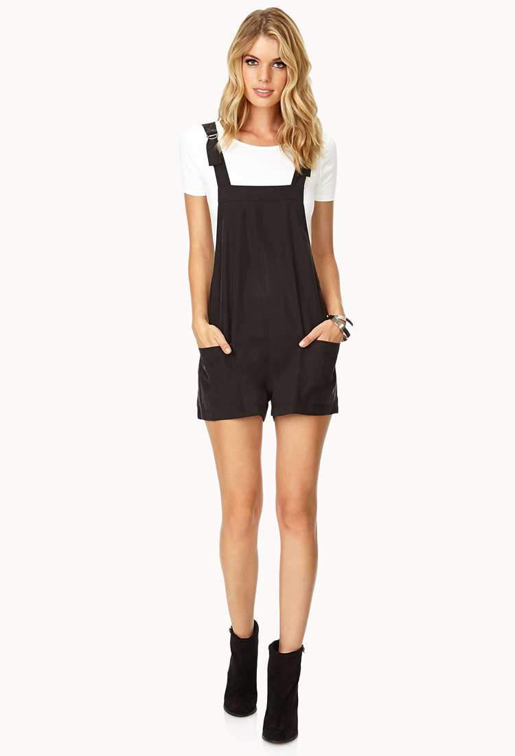 Lyst Forever 21 Contemporary Minimalist Overall Shorts