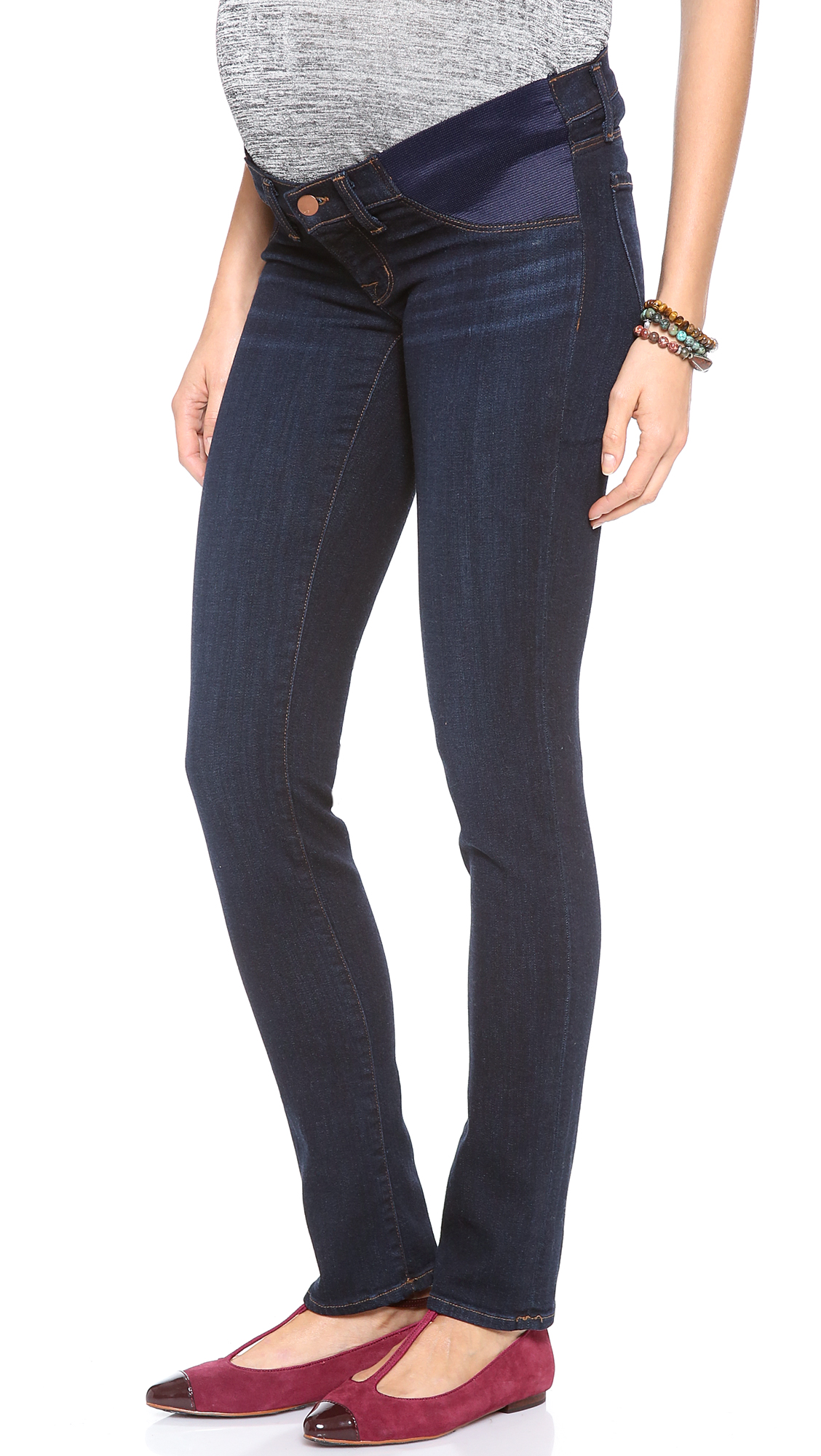 J brand 34112 Mama J Rail Maternity Jeans - Eminence in Blue | Lyst