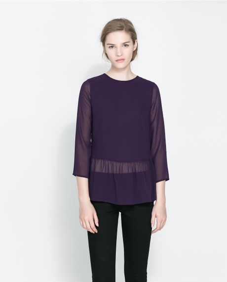 Zara Purple Blouse 26