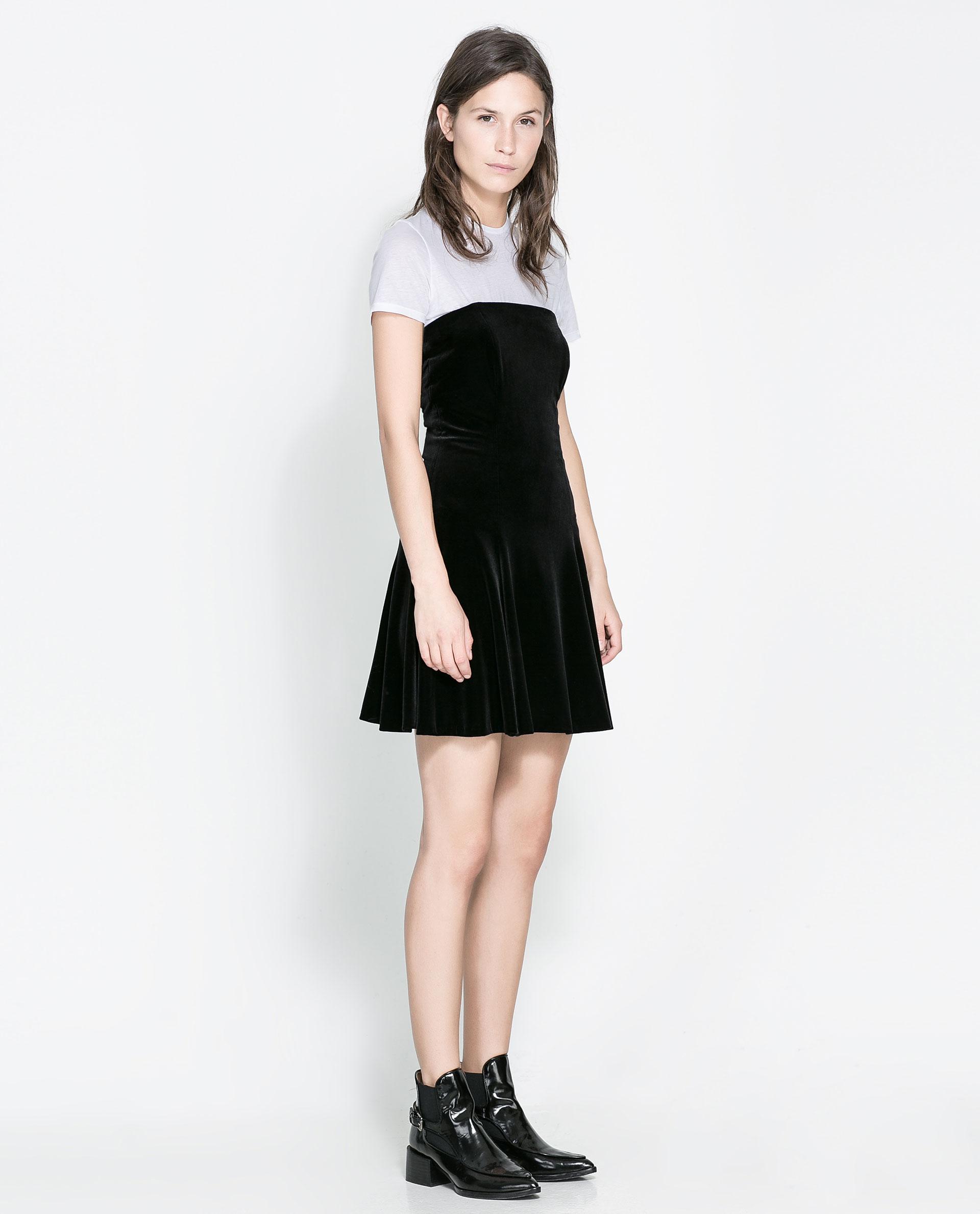 Long velvet dress zara fashion dresses long velvet dress zara ombrellifo Images