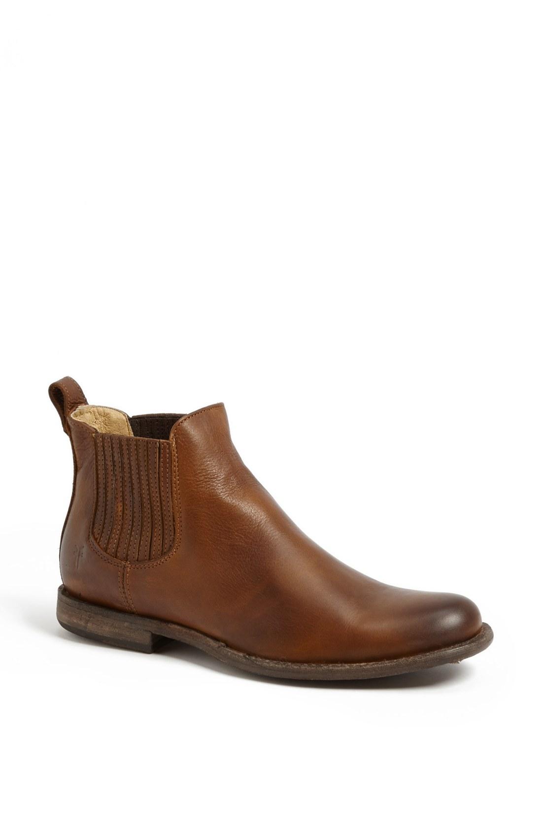 Fantastic Frye Women39s Carson Chelsea Boots In Brown  Lyst