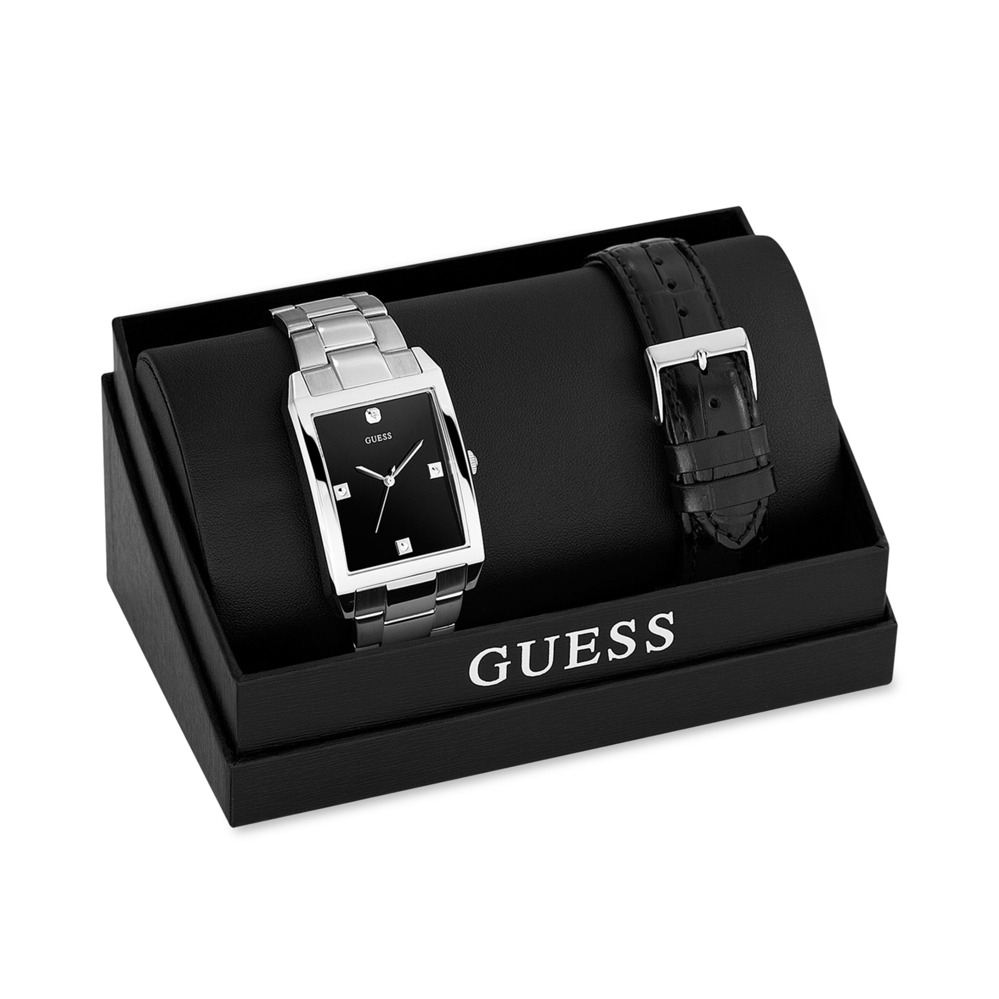 Guess Diamond Watch Mens