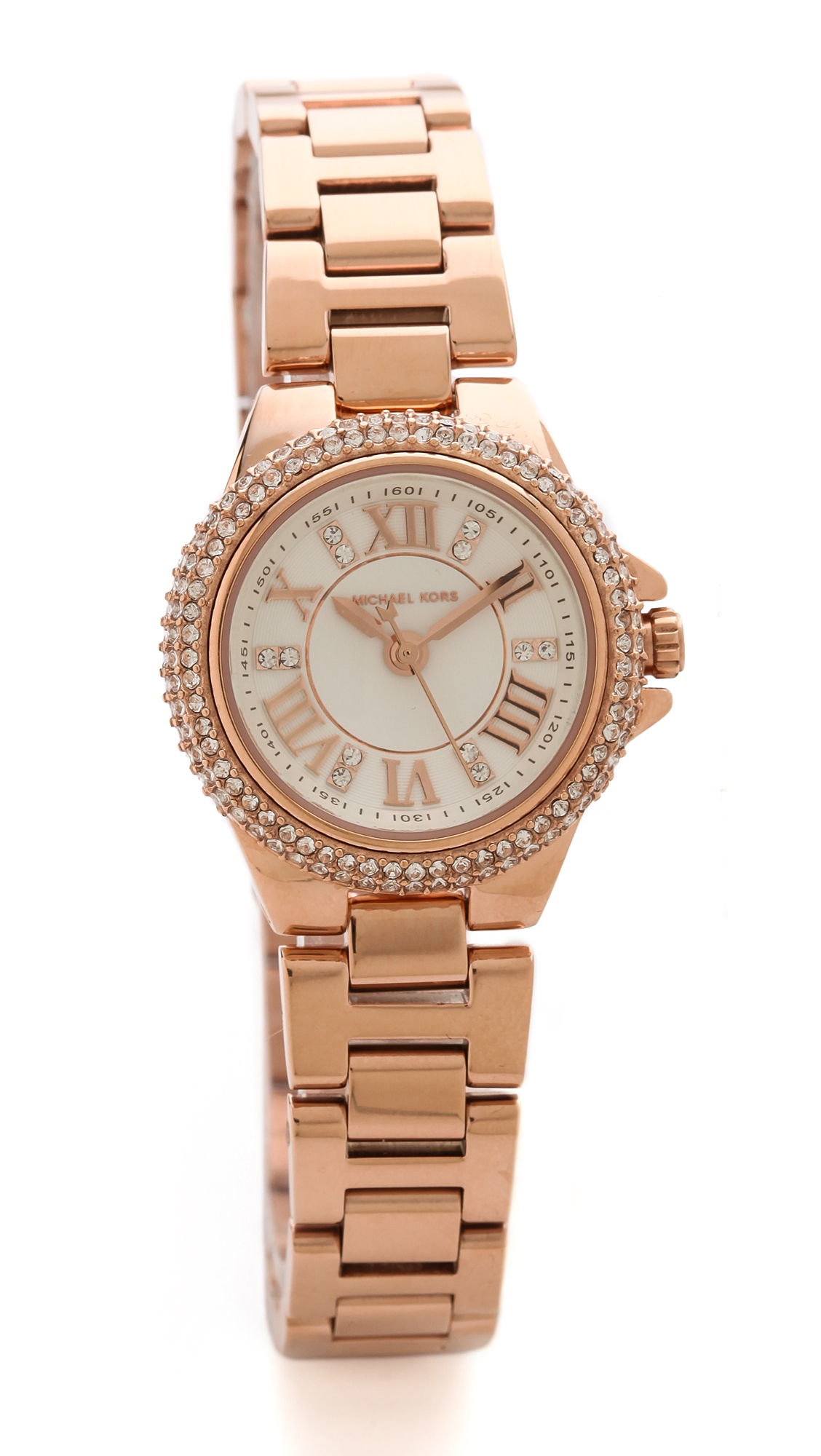Michael Kors Camille Watch In Pink Lyst