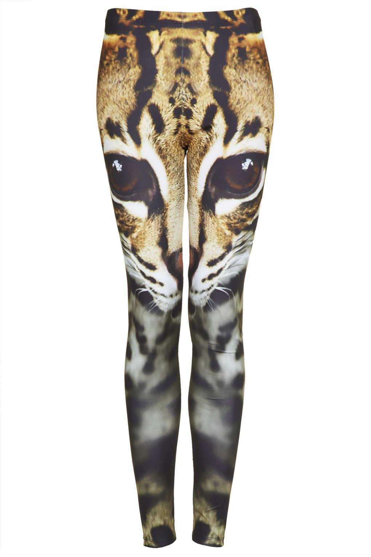 Cat Face Leggings