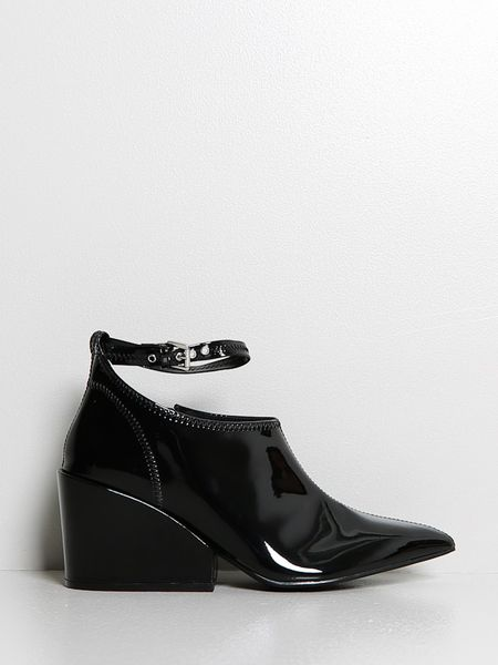 cheap monday wedge shoe in black lyst