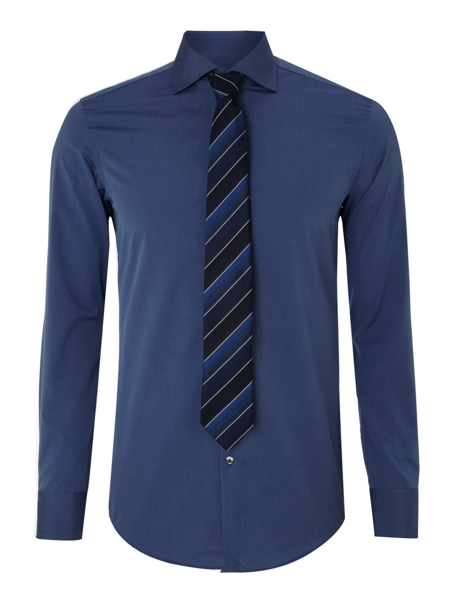 hugo shirt and tie box gift set in blue for lyst