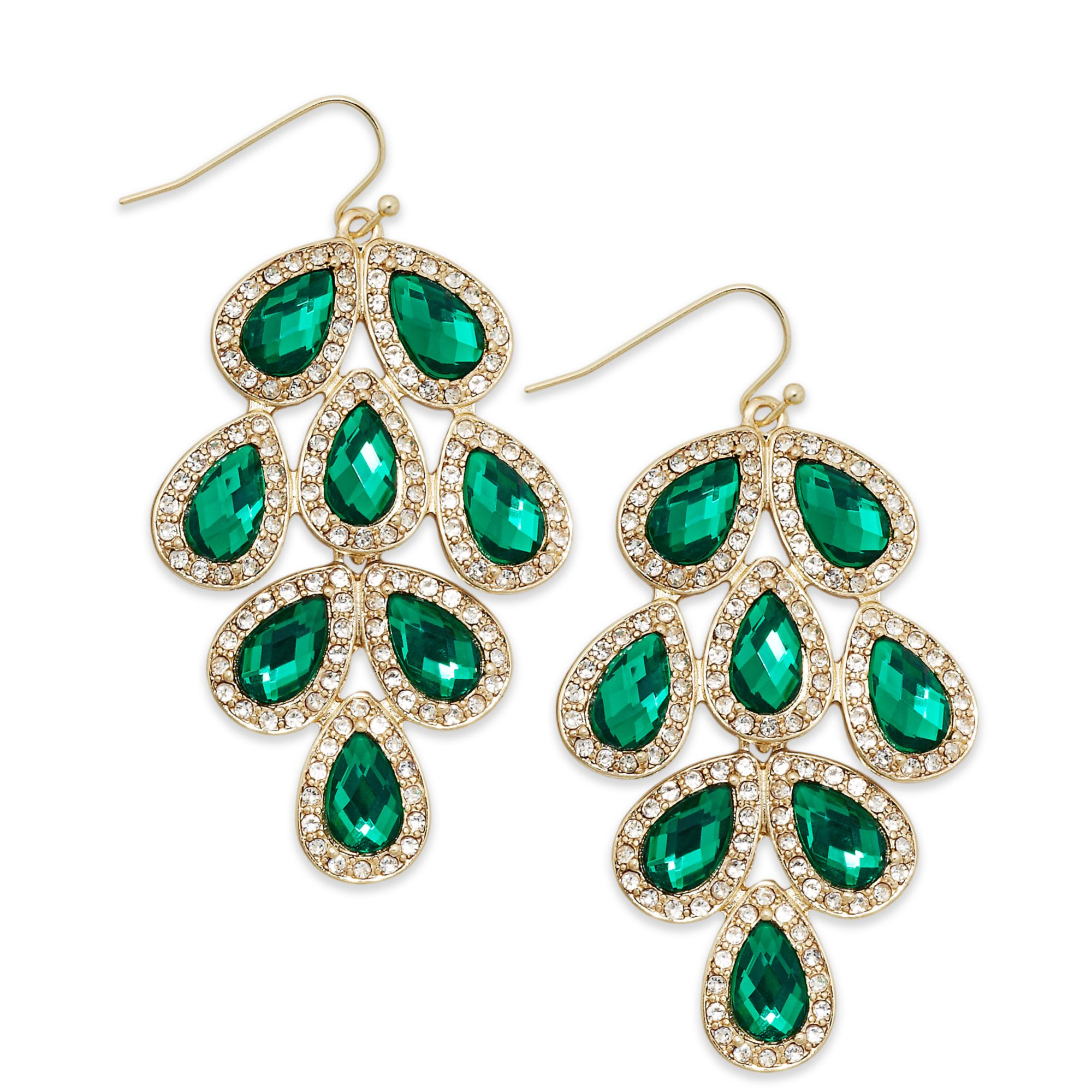 emerald green chandelier earrings chandelier ideas