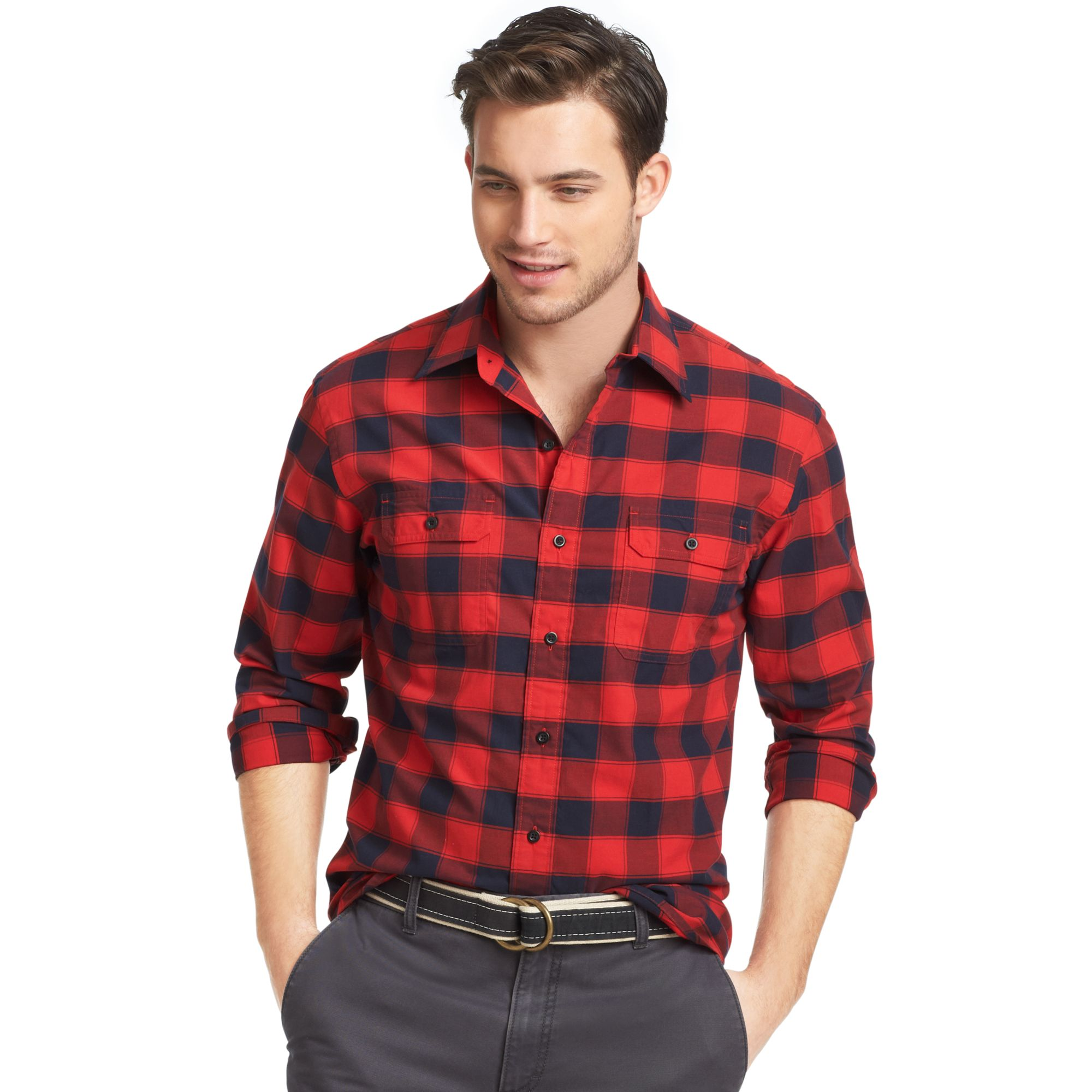 Plaid Shirts For Men Long Sleeve