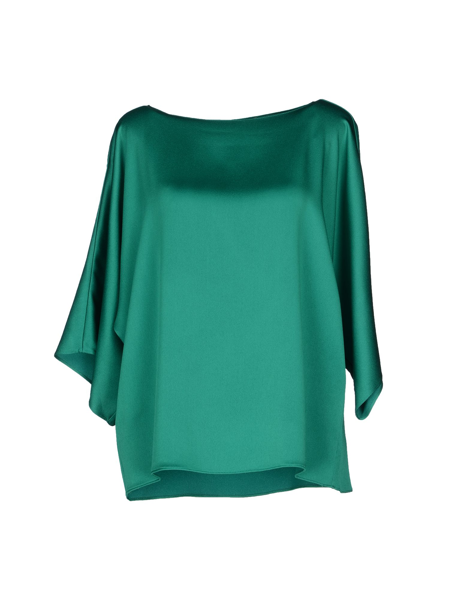 michael kors blouse in green lyst. Black Bedroom Furniture Sets. Home Design Ideas