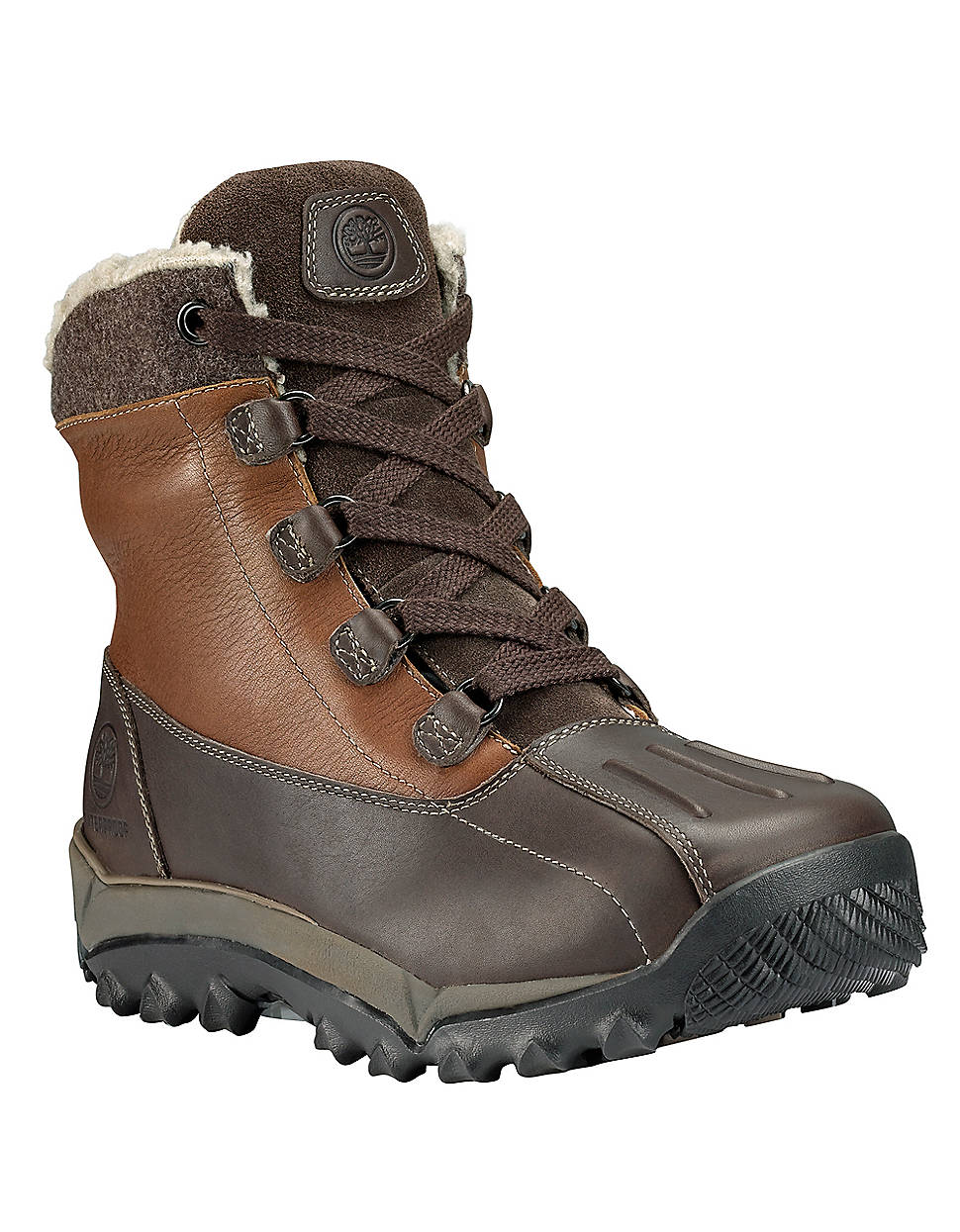 Timberland Rime Ridge Woodbury Waterproof Leather Boots in Brown for Men   Lyst