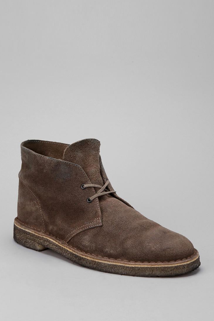 Clarks Distressed Chukka Boot in Brown for Men   Lyst