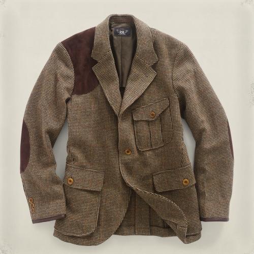 Lyst Rrl Douglas Tweed Jacket In Brown For Men