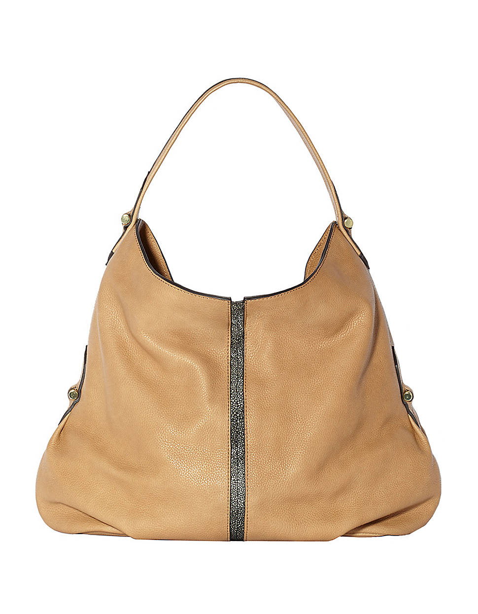Vince Camuto Margo Leather Hobo Bag in Brown | Lyst