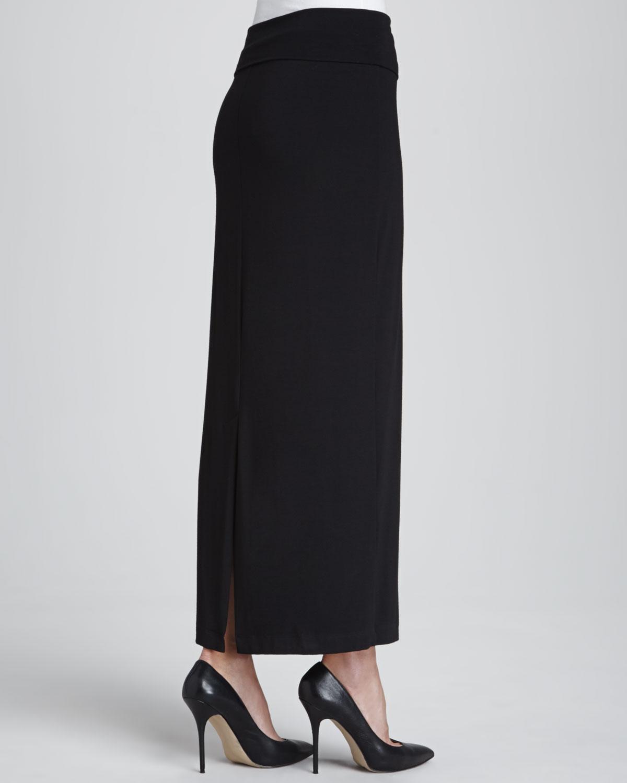Remarkable, very Petite long black skirt