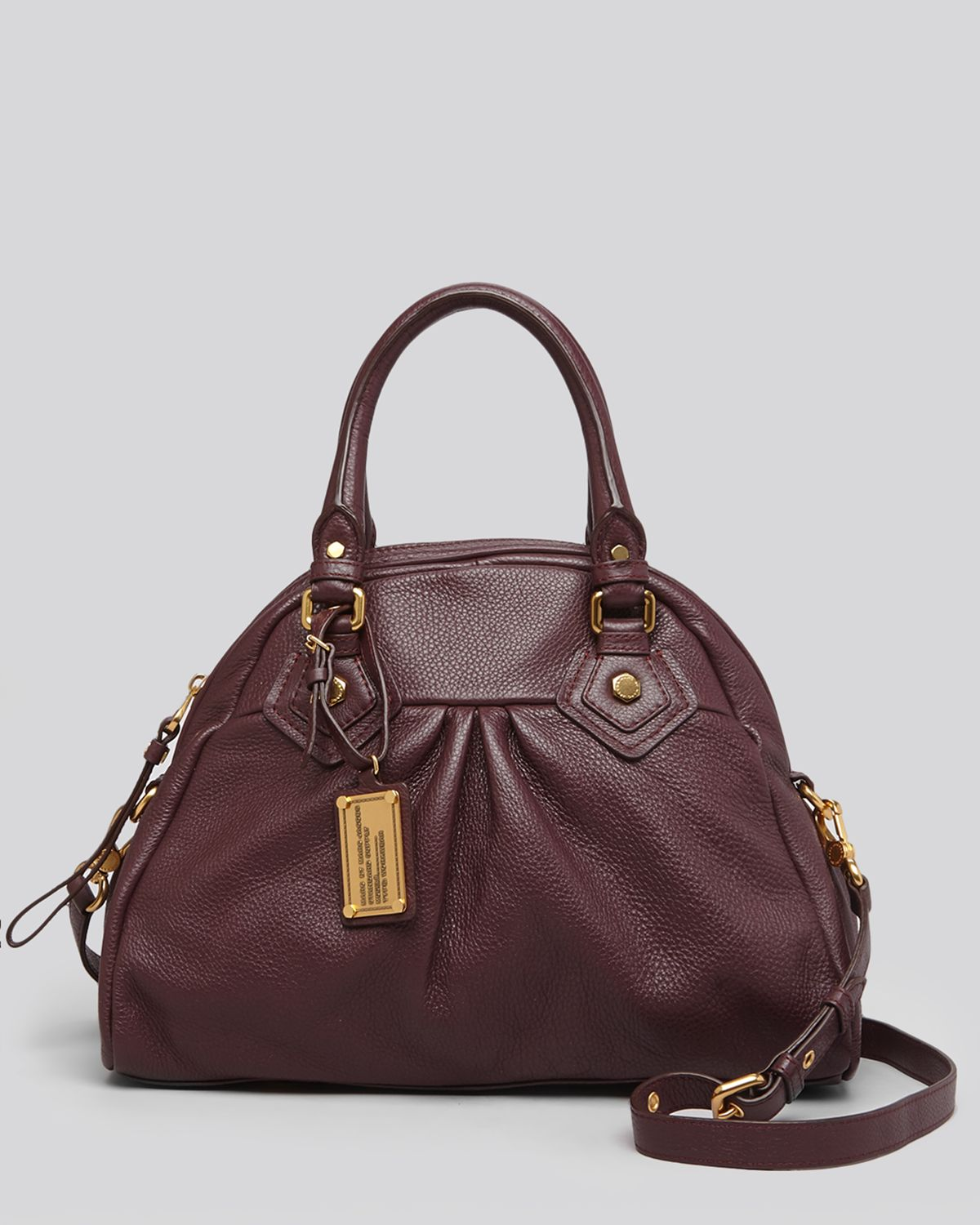 ff40543d72e9 Lyst - Marc By Marc Jacobs Satchel Classic Q Baby Aidan in Brown