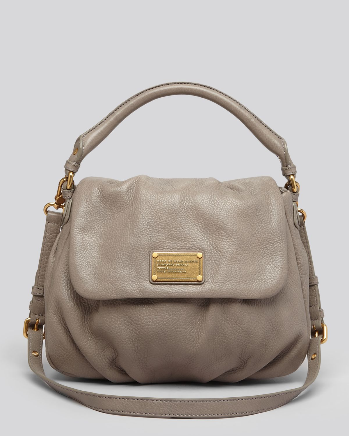 Marc By Marc Jacobs Satchel Classic Q Lil Ukita in Natural - Lyst 9f997f1fae