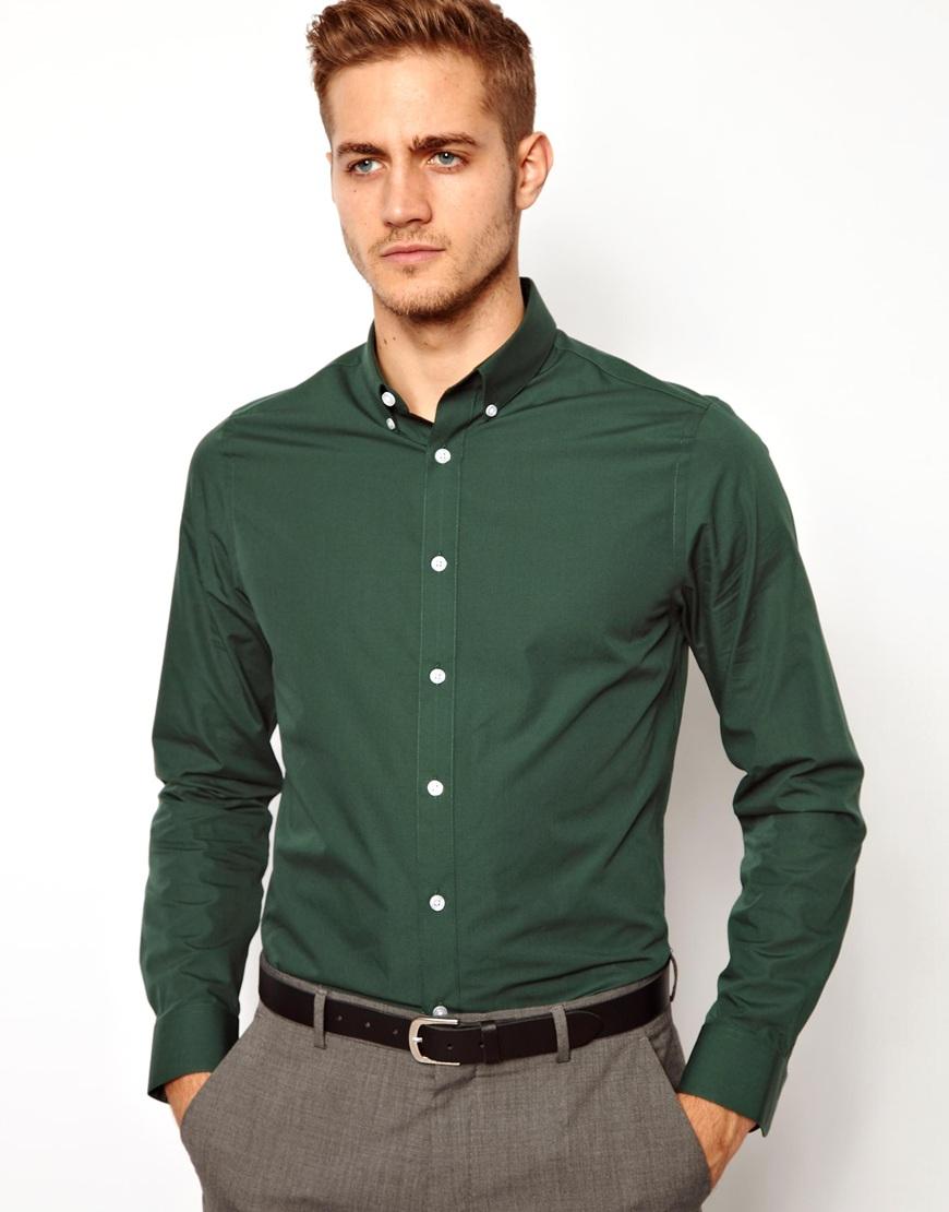 ee45a40e3bfd Gallery. Dravus Jacob Blue Short Sleeve Button Up Shirt. great color –  EXPRESS. Men s Formal Longsleeve Shirt