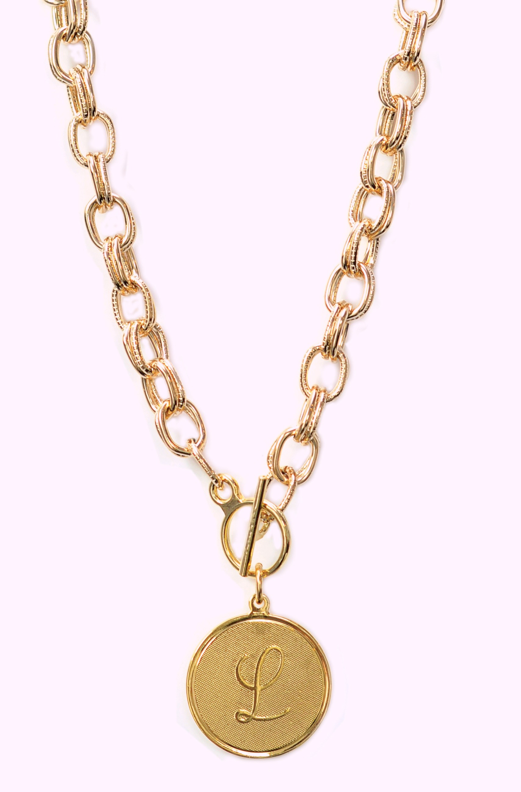 moon lola nantucket necklace with dalton charm in gold