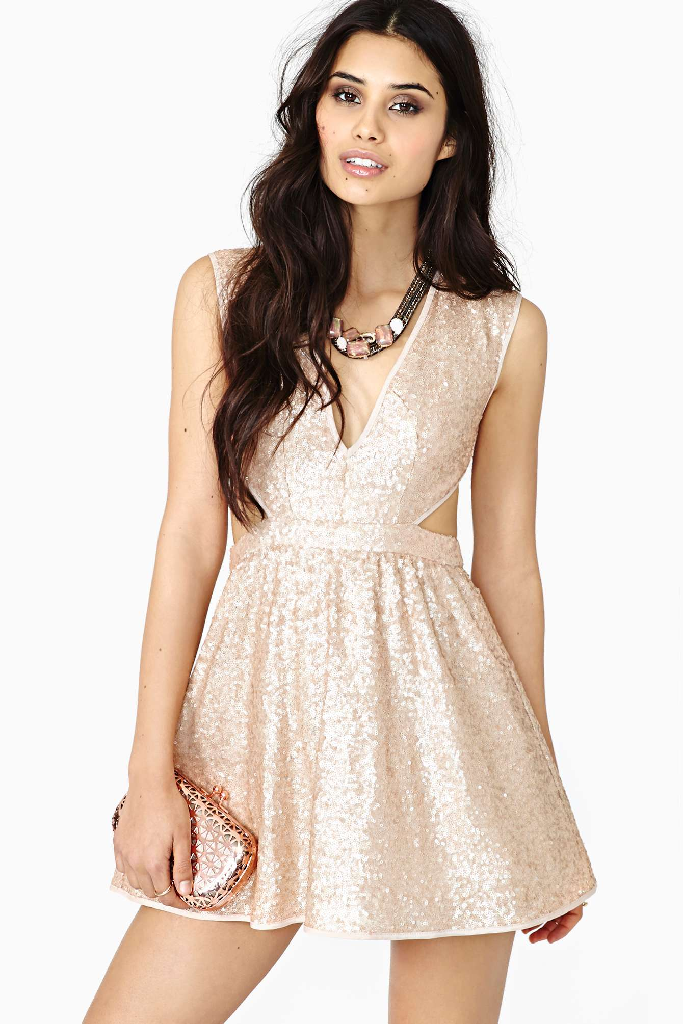 Sequin Queen Dresses