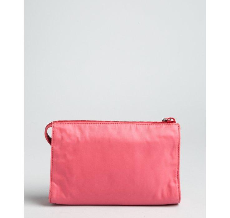 prada handbag white - prada leather zip pouch, original prada bags online