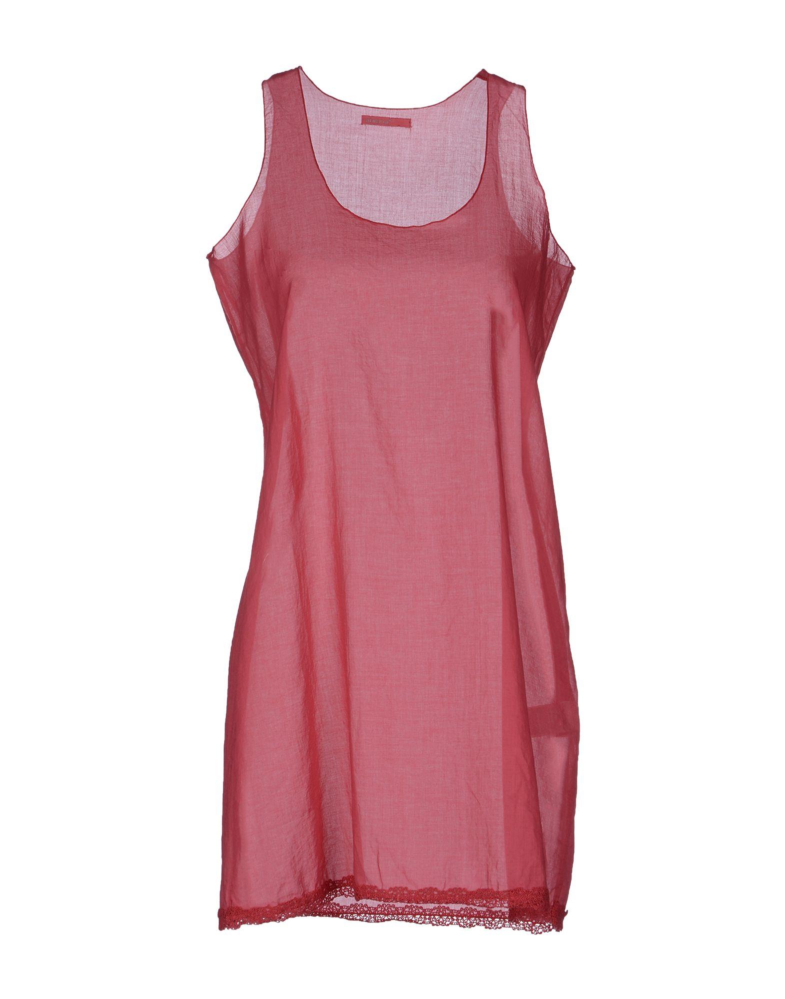 Almeria short dress in pink pastel pink lyst for Pastel pink dress shirt