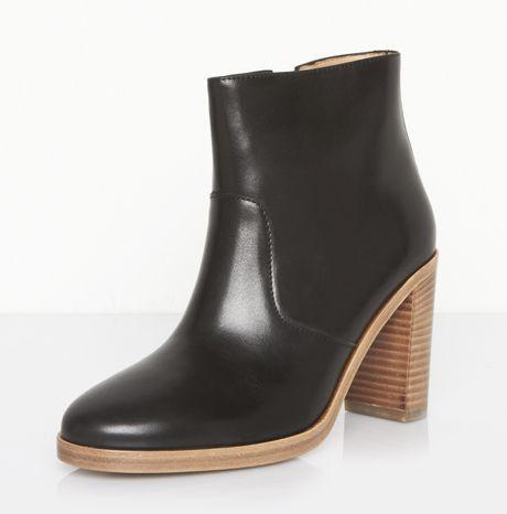a p c talon boots in black noir lyst. Black Bedroom Furniture Sets. Home Design Ideas