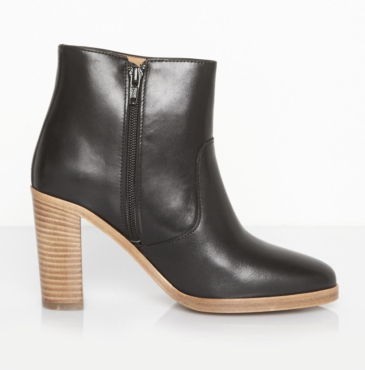 a p c talon boots in black lyst. Black Bedroom Furniture Sets. Home Design Ideas