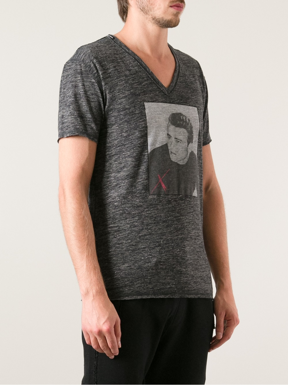 3f36a0a971ea57 Dolce & Gabbana James Dean Tshirt in Gray for Men - Lyst