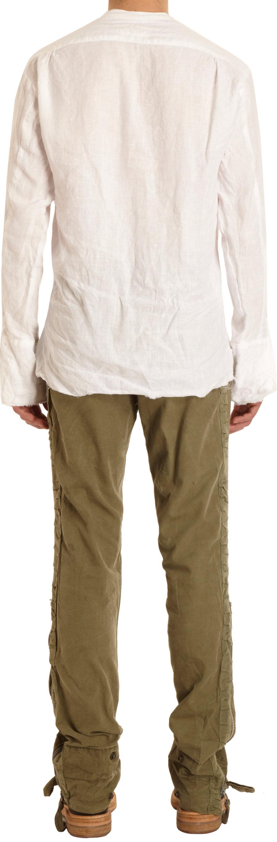 Gallery  sc 1 st  Lyst & Lyst - Greg lauren The Tent Tuxedo Pants in Green for Men