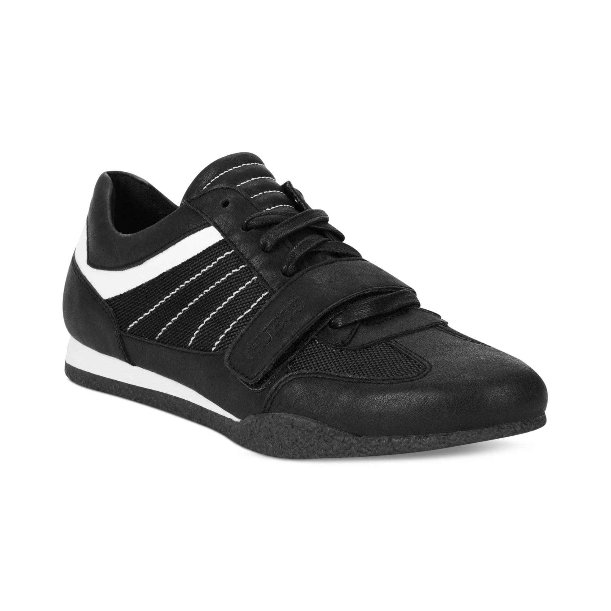 guess mens shoes arko3 sneakers in black for black