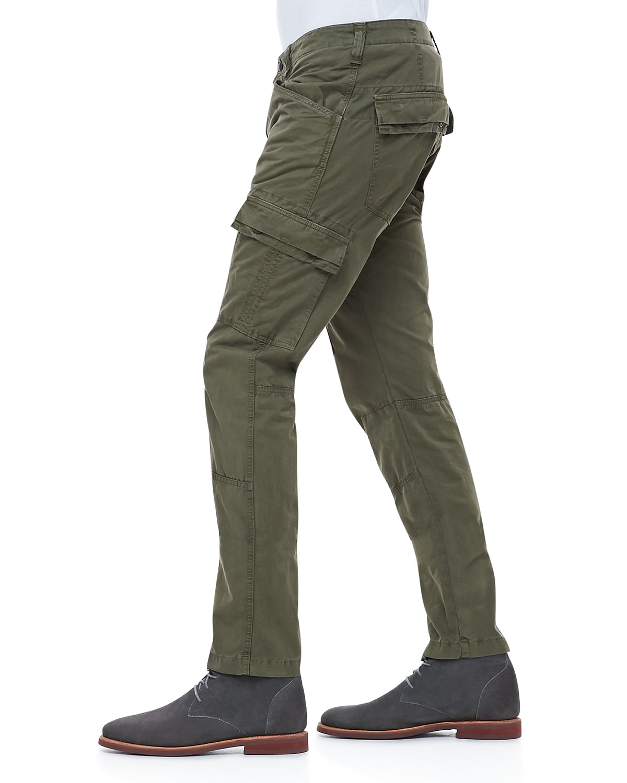 J brand Trooper Garmentdyed Cargo Pants in Green for Men | Lyst