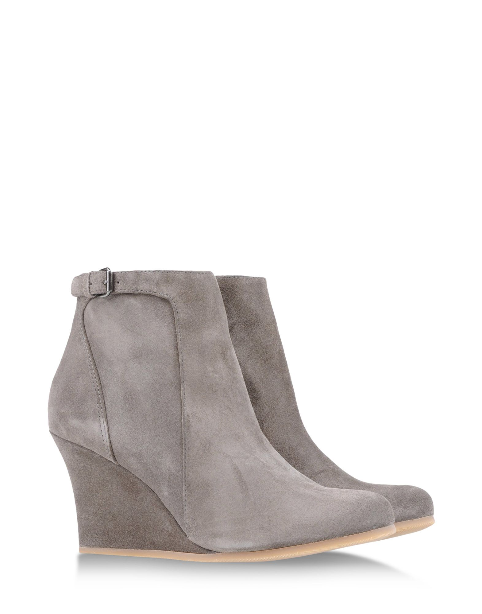 lanvin ankle boots in gray grey lyst. Black Bedroom Furniture Sets. Home Design Ideas