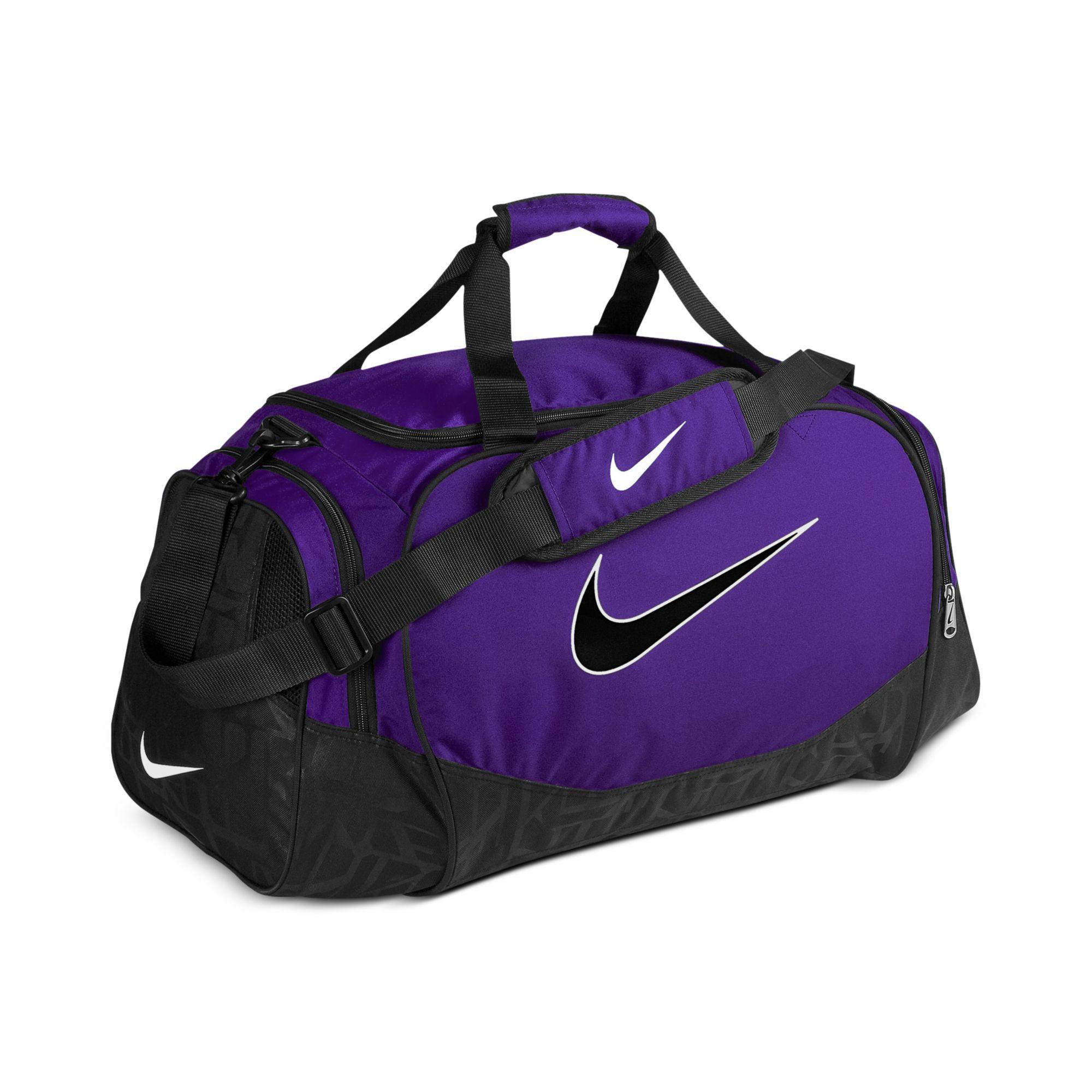 a9dc18585ef0 Lovely Lyst - Nike Medium Logo Duffle Bag in Purple for Men IW72