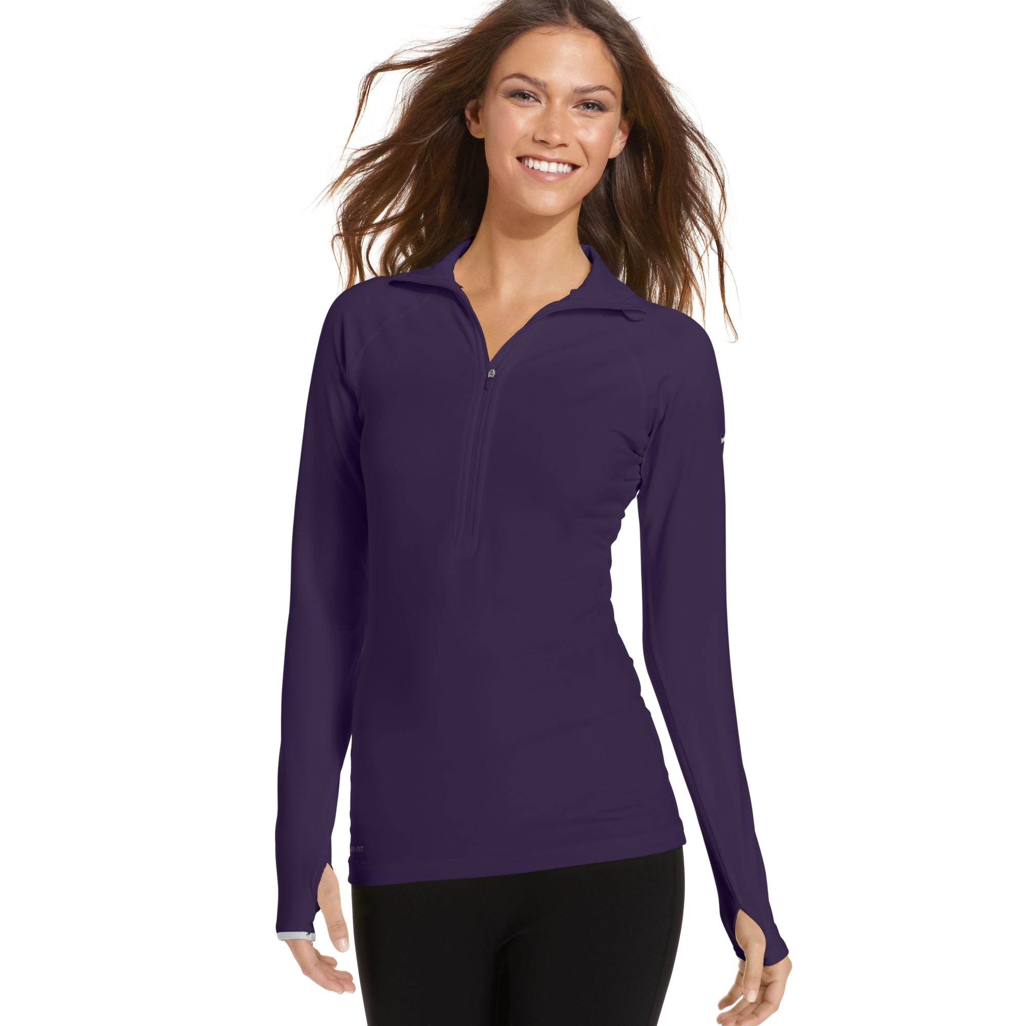 cbc238951 Nike Womens Pro Hyperwarm Long Sleeve Shirt - DREAMWORKS