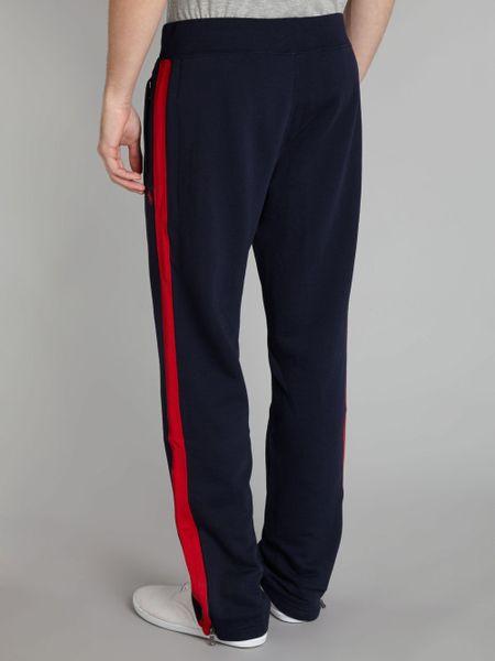Polo Ralph Lauren Side Stripe Sweat Pant In Blue For Men