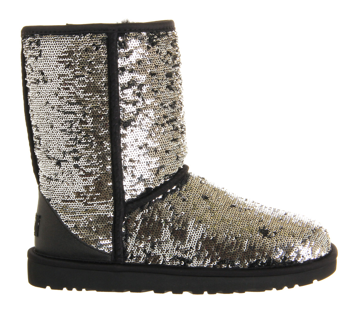 silver sparkle ugg boots