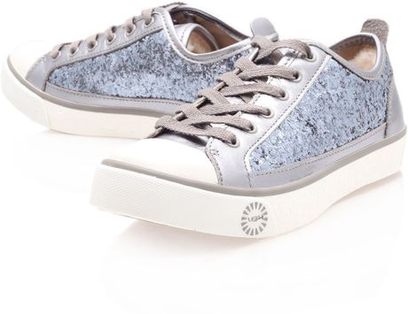 c19d9dfb4bd Silver Glitter Ugg Trainers - cheap watches mgc-gas.com