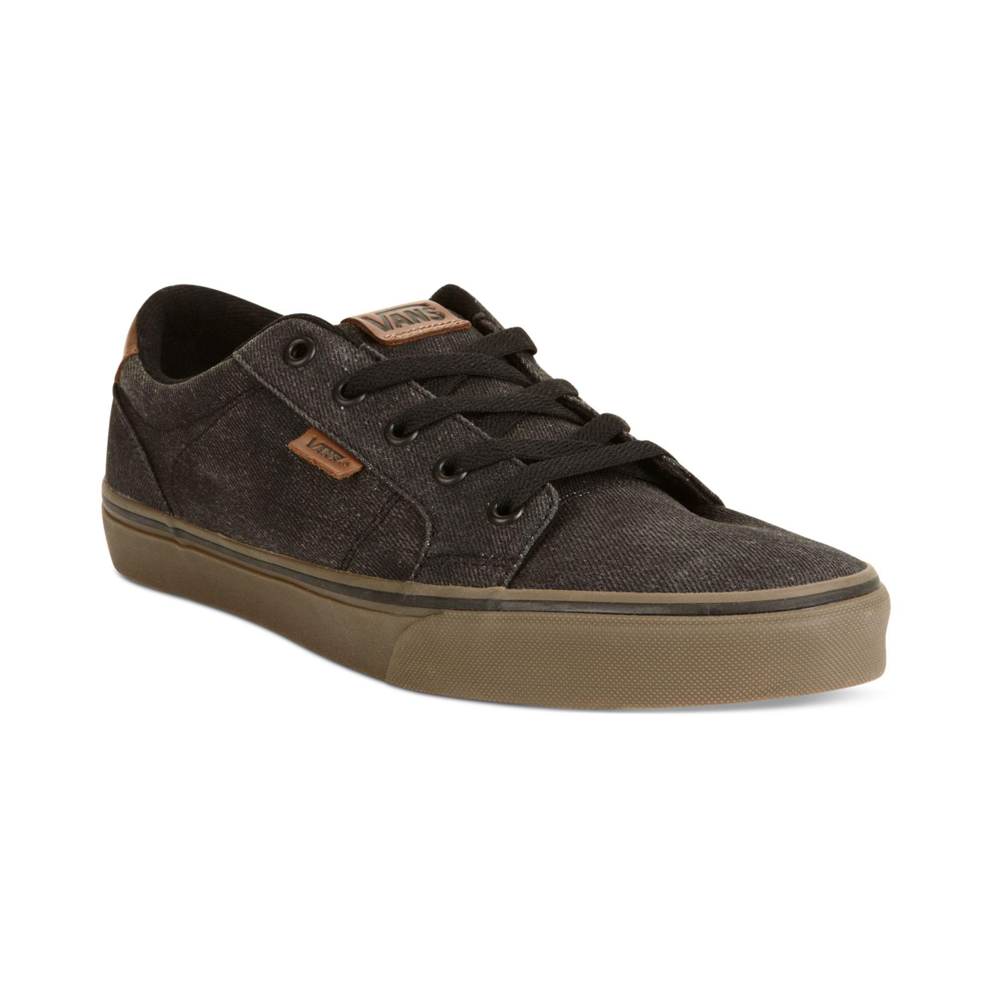 Vans Bishop Sneakers In Black For Men Black Gum Lyst
