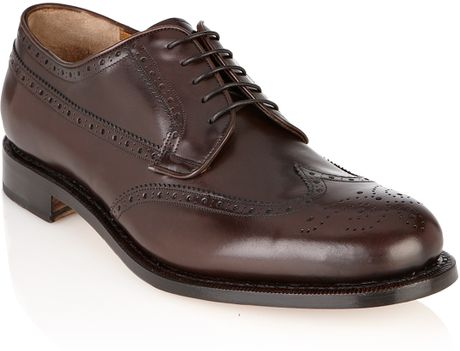 Florsheim Men's Montinaro Wingtip Oxford – Men's Brown Wingtip Dress Shoes for Almost Any Occasion Excellent customer service, quality and inspired shoe design have been synonymous with the name Florsheim since the end of the 19th century.